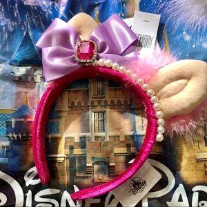 Disney Parks Miss Piggy Mickey Ears Headband NWT